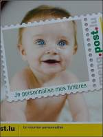 Verschiedenes/4275/werbung-der-post-fotografiert-im-bahnhof Werbung der Post fotografiert im Bahnhof von Luxemburg am 17.08.08. (Jeanny)